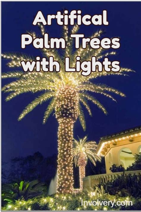 lights for trees artificial lighted palm trees best palm trees with
