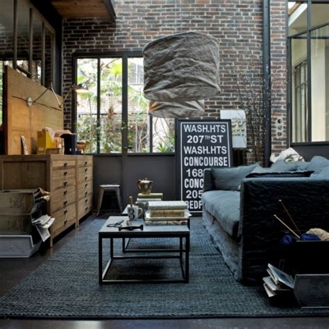 Modern Industrial Home Decor 30 stylish and inspiring industrial living room designs