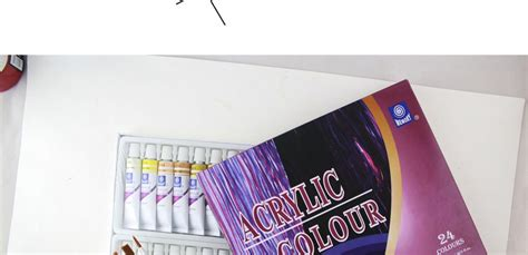 acrylic paint water resistant acrylic paint set of water resistant 24 colors 12ml for