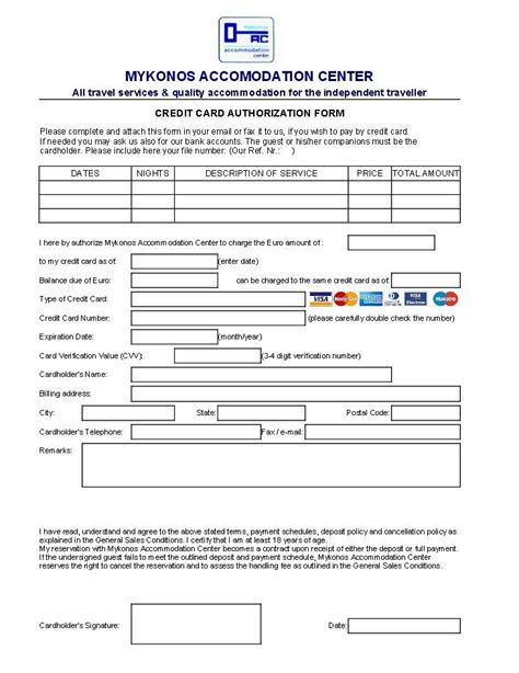 how to make car payment with credit card credit card authorisation for reservations bookings