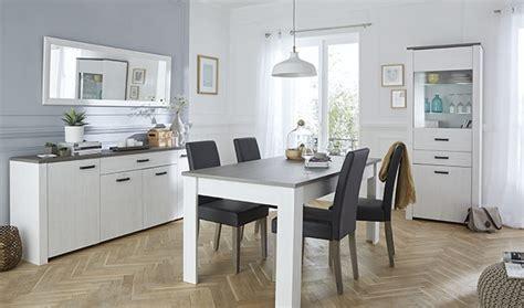 salle 224 manger compl 232 te gris et blanc perle marquis http www basika fr meuble salle a manger