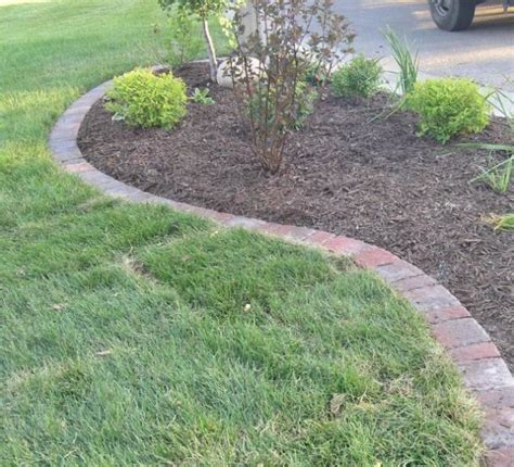 rock edging for gardens the value of garden edging ortega lawn care