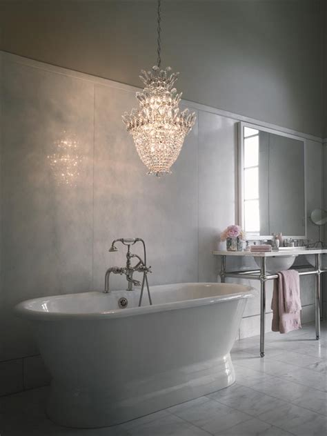 chandelier in the bathroom bathrooms with chandeliers room ornament