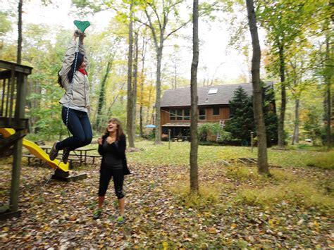 zipline for backyard backyard zip line ideas outdoor furniture design and ideas