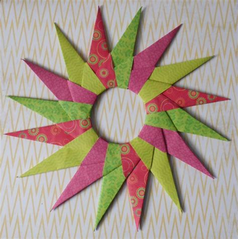 16 pointed origami how to make a modular 16 point origami
