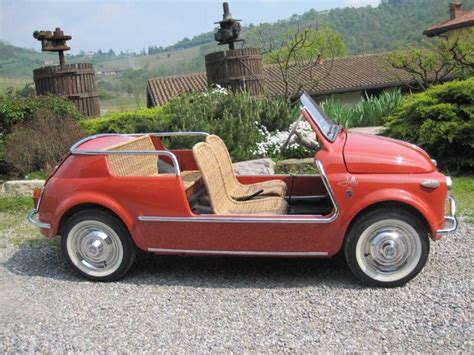 Fiat 500 Jolly by Fiat 500 Jolly Ghia
