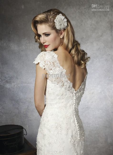 beaded back wedding dress ivory beaded lace wedding dress with sleeves and open back