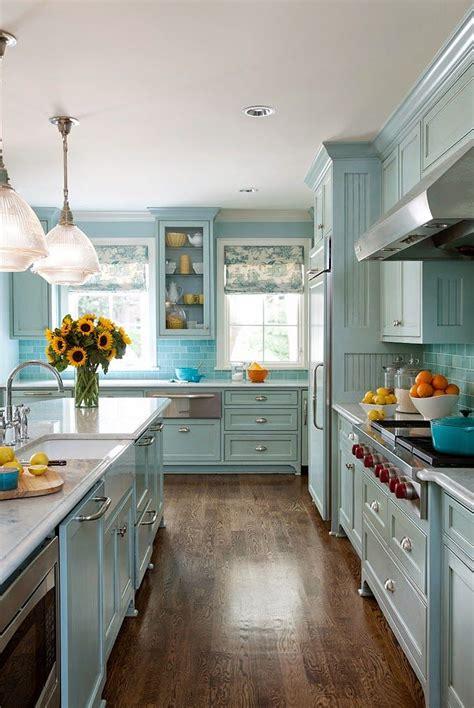 blue kitchen cabinet blue kitchen cabinets 2017