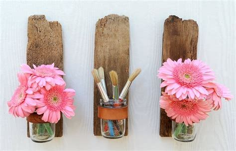 wood crafts diy cool decoration ideas recycled things