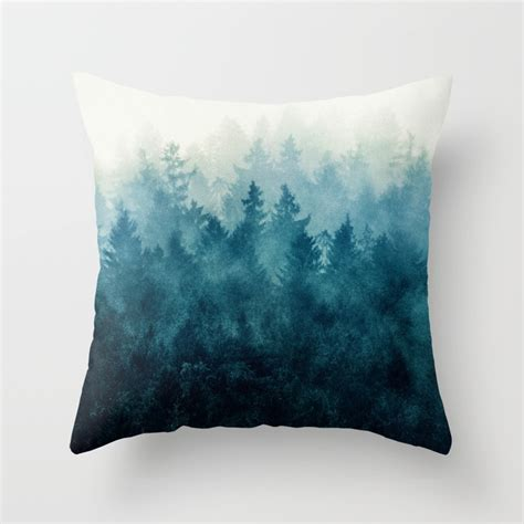 pillow with nature throw pillows society6