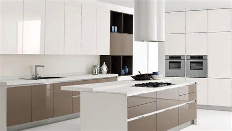 white and brown kitchen designs white kitchen island with brown kitchen cabinet design