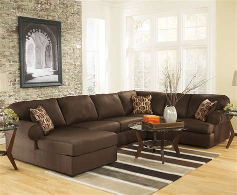 brown sectional sofa with chaise brown microfiber sectional sofa with chaise prefab homes