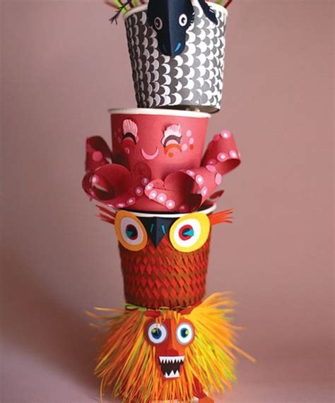 paper cup animals craft 25 paper cup crafts ted s