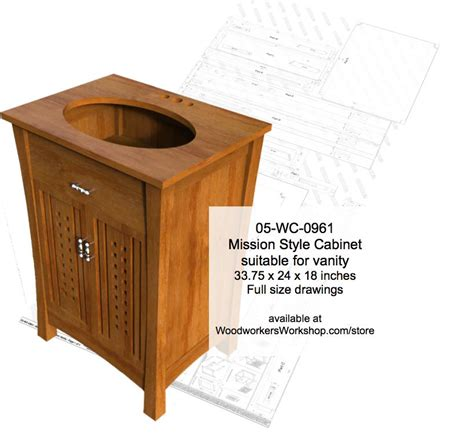 mission style woodworking plans 05 wc 0961 mission style cabinet woodworking plan