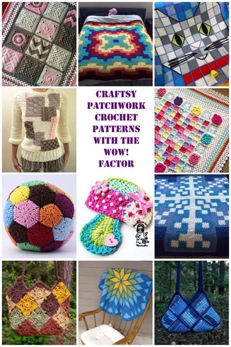 www coatsandclark crafts crochet projects 12 wow worthy patchwork crochet patterns