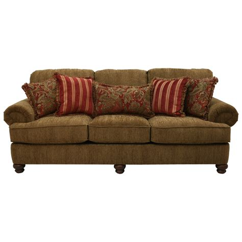 jackson furniture sofa jackson furniture belmont sofa with rolled arms and