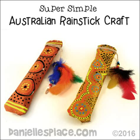 australia day craft australian crafts for