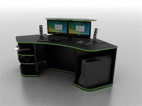roccaforte ultimate gaming desk computer desks gaming computer gaming desk gaming