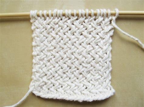 knitting diagonally diagonal basketweave knitting pattern