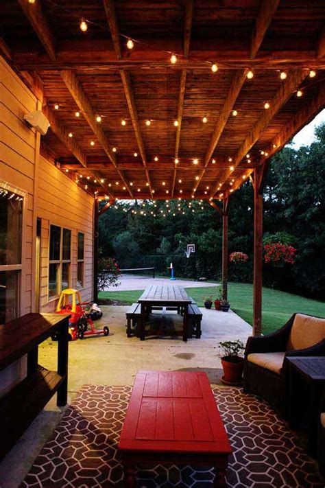 patio outdoor lights 26 breathtaking yard and patio string lighting ideas will