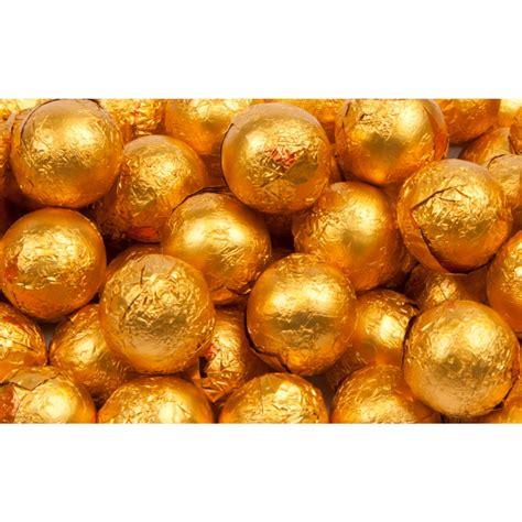 orange balls orange foil chocolate balls