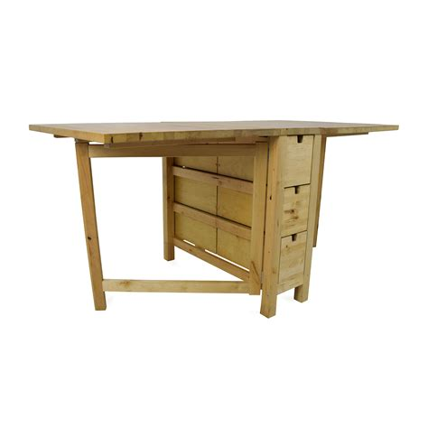 Kitchen Island Tables Ikea 72 off ikea ikea foldable kitchen table and desk tables