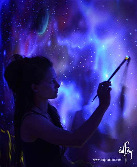glow in the paint uv light artist paints rooms with murals that glow blacklight