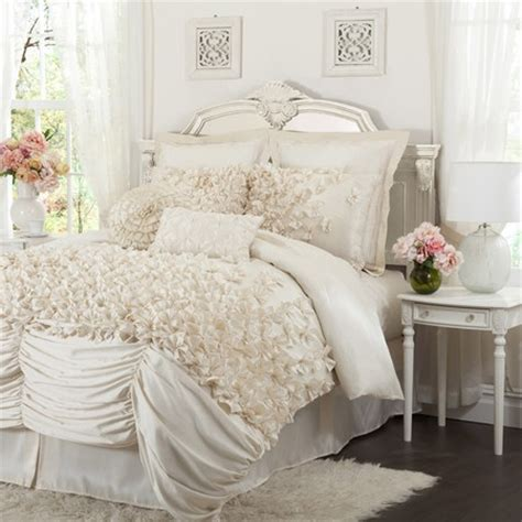 hiend accents linen and lace comforter set shabby chic comforter set wow look at that bedding