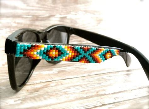 beaded sunglasses made to order black frame beaded sunglasses