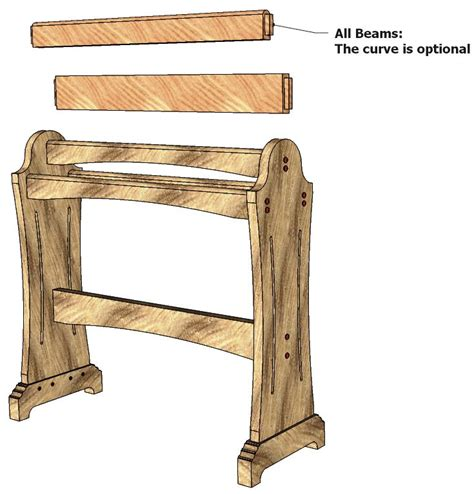 free quilt rack woodworking plans march 2016 hedef