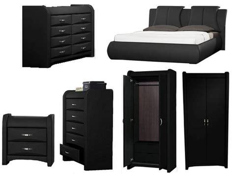 faux leather bedroom furniture azure black faux leather bedroom furniture collection