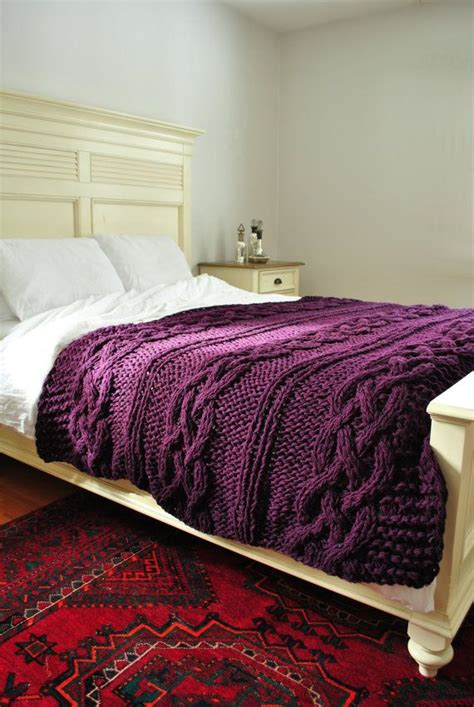 purple cable knit throw pin by amanda holman on homeee cable wool