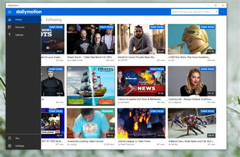 on dailymotion site dailymotion launches official windows