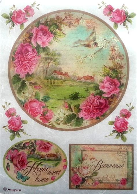 decoupage with rice paper decoupage paper decoupage and scrapbooking on