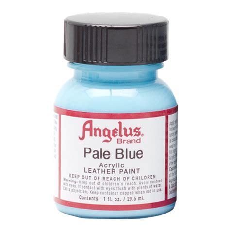 angelus paint use buy angelus leather paint 1 oz pale blue
