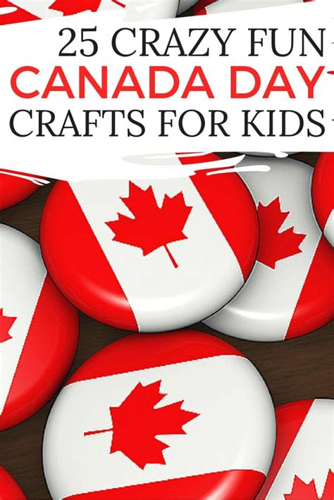 canada day crafts for canada day crafts pages