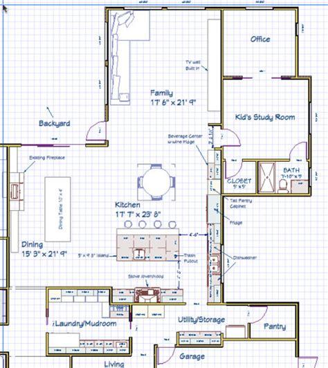 kitchen layouts with islands need help with kitchen island layout island bad