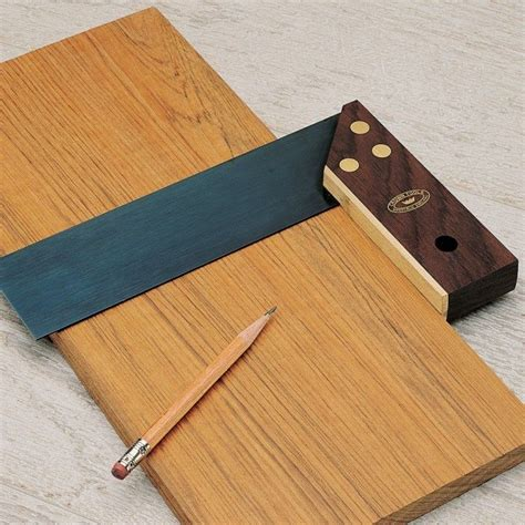 woodworking squares 6 quot tri miter square by crown tools rockler