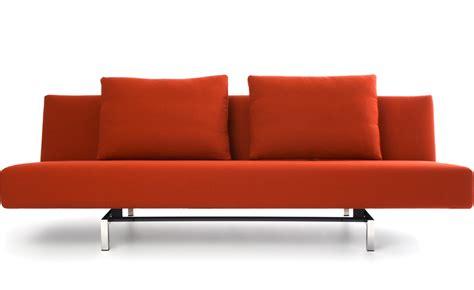 modern sofa sleeper sleeper sofa with 2 cushions hivemodern