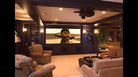 home theater decorations basement home theater design and decorations