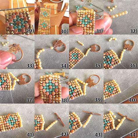 how to finish bead loom bracelet desert bracelet ends