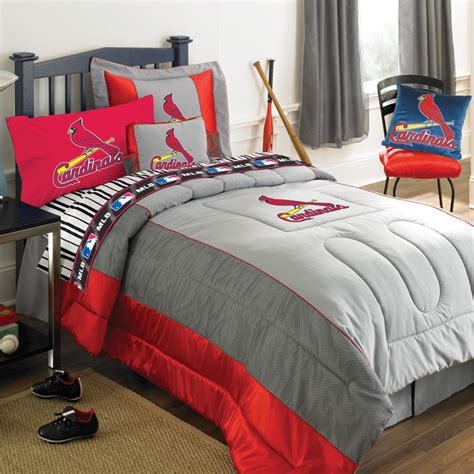 comforter sets with sheets st louis cardinals mlb authentic jersey bedding