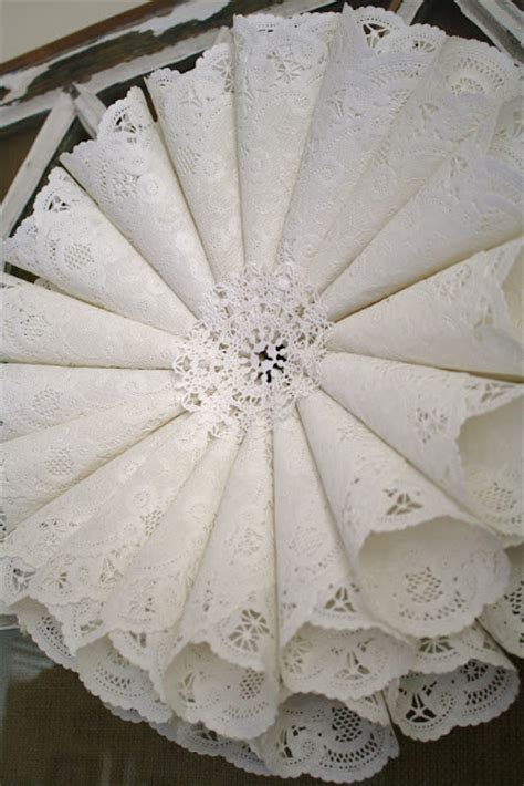 paper doily craft ideas paper crafts for paper doily wreath tutorial