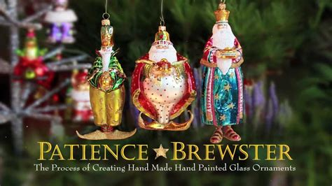 how are glass ornaments made patience brewster made painted glass ornaments