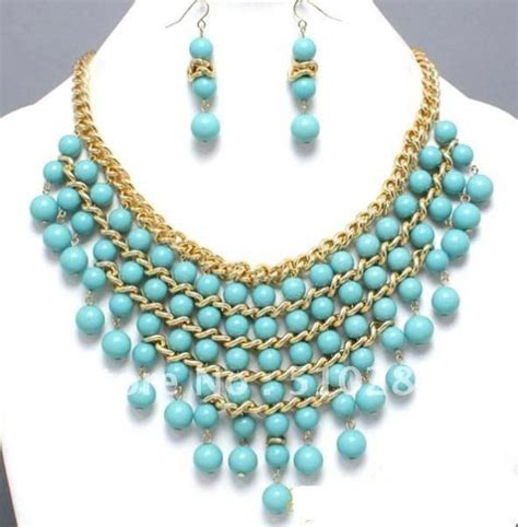 new beaded jewelry designs which turquoise bead necklace to wear with 8526