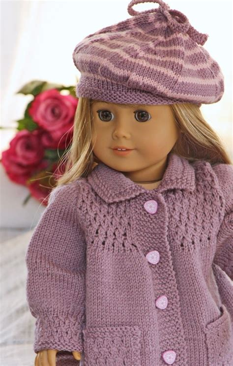 free knitting patterns for 18 inch baby dolls springtime