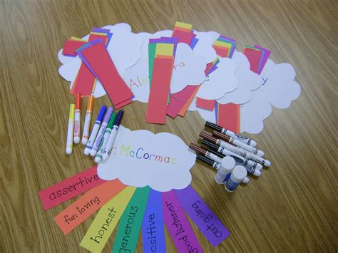 friendship craft ideas elementary counseling rainbow of friendship