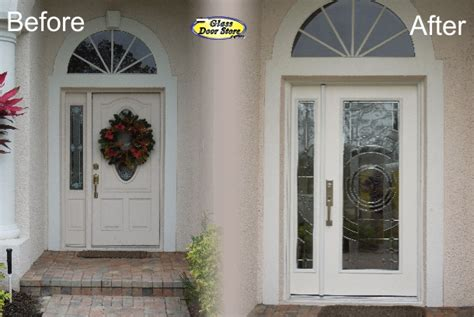 front entry doors with one sidelight new exterior front doors update the front entryway
