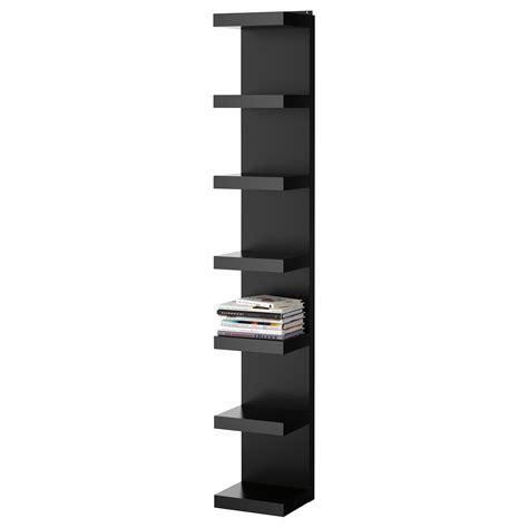 black shelves wall lack wall shelf unit black 30x190 cm ikea