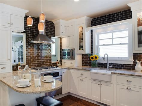 white and brown kitchen designs photo page hgtv